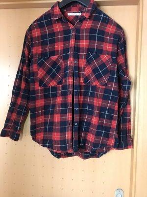 Pull & Bear Koszula w kratę Wielokolorowy