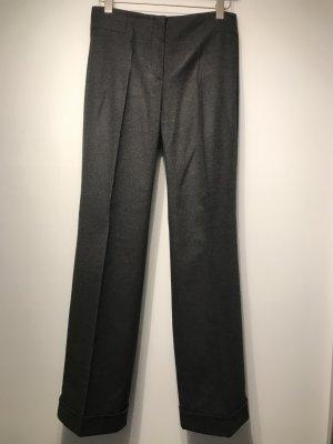 Raffaello Rossi Pantalón de pinza gris oscuro