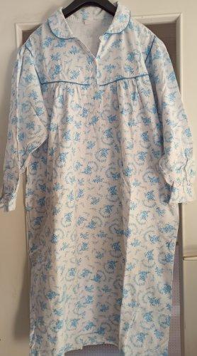 Pyjama wit-azuur