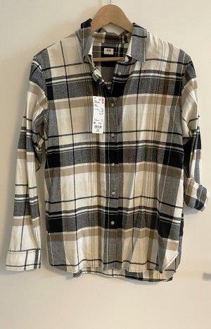 Uniqlo Camisa de franela multicolor Algodón