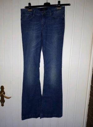 flared Jeans,  Schlaghose, Jeans mit Schlag