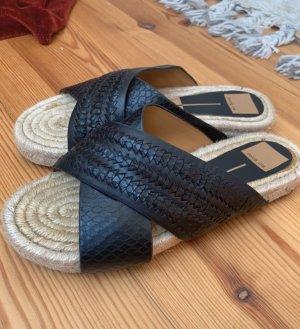 Dolce Vita Espadrille sandalen zwart