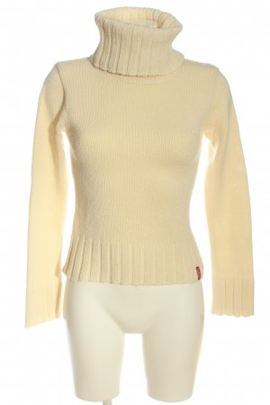 flash lights Rollkragenpullover creme Casual-Look
