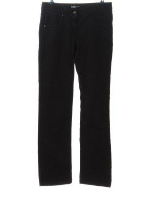 flash lights Straight-Leg Jeans schwarz Casual-Look