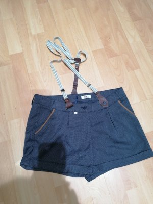 FlashLights Pantaloncino con bretelle blu scuro