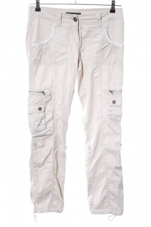 FlashLights Cargo Pants natural white casual look