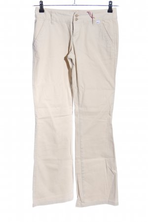 FlashLights Chinohose wollweiß Casual-Look