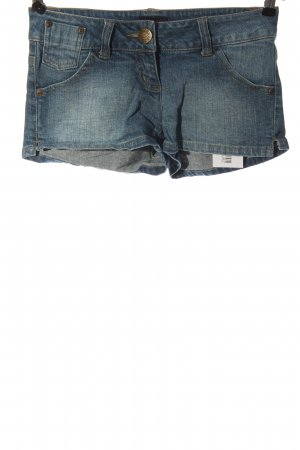 FlashLights Pantaloncino di jeans blu stile casual