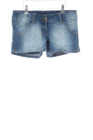 FlashLights Short en jean bleu style décontracté