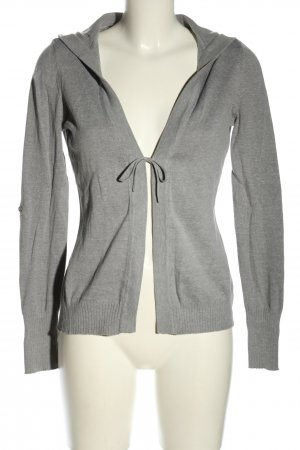 FlashLights Hoody light grey flecked casual look