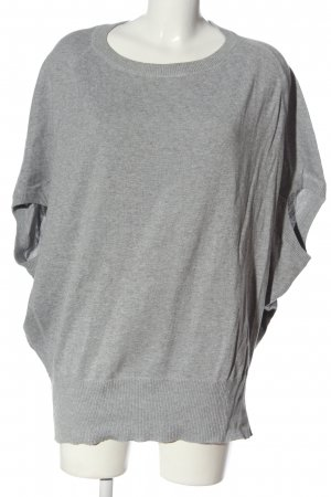 FlashLights Jersey largo gris claro moteado look casual