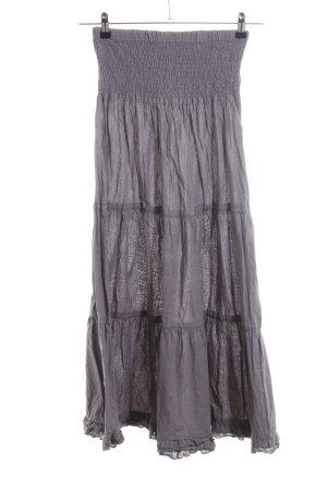 FlashLights Maxi Skirt light grey casual look