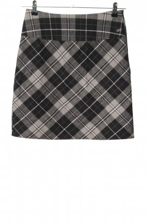FlashLights Miniskirt light grey allover print business style