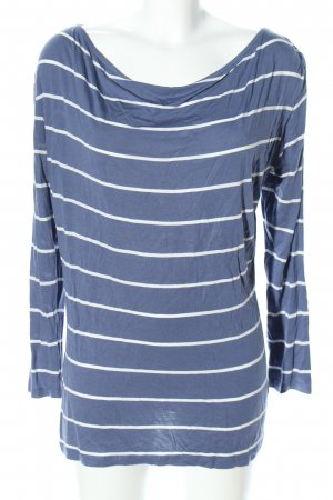 FlashLights Stripe Shirt blue-white striped pattern casual look