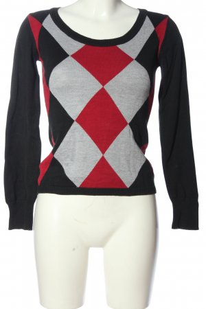 FlashLights Crewneck Sweater allover print casual look