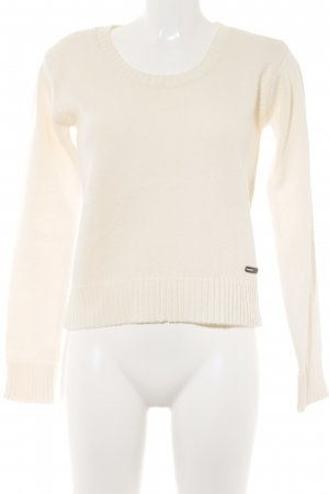 FlashLights Strickpullover creme Casual-Look
