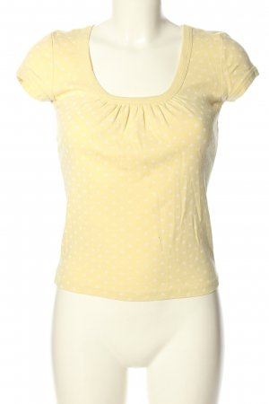 FlashLights T-Shirt blassgelb-wollweiß Allover-Druck Casual-Look