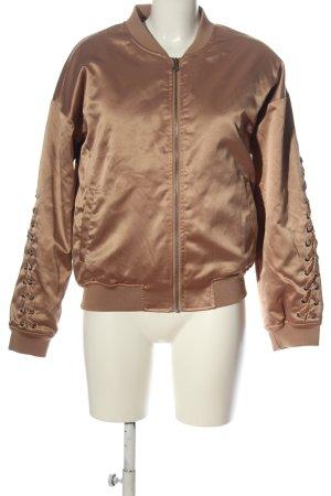 Flatbush Giacca bomber marrone stile casual