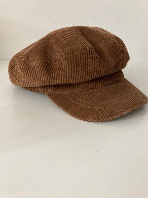 Flat Cap black brown