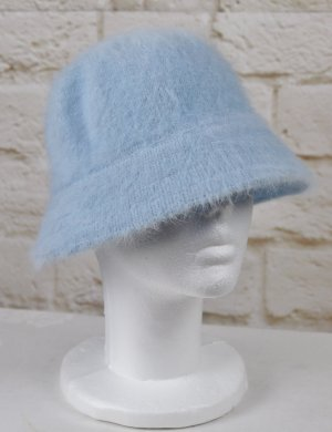 Bucket Hat azure mixture fibre