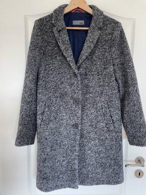 Cinque Wool Coat light grey-dark blue