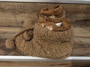Slipper Socks light brown-beige