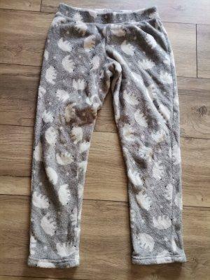 Hunkemöller Spodnie dresowe biały-srebrny