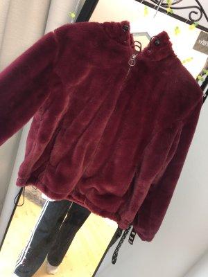 Veste à capuche violet