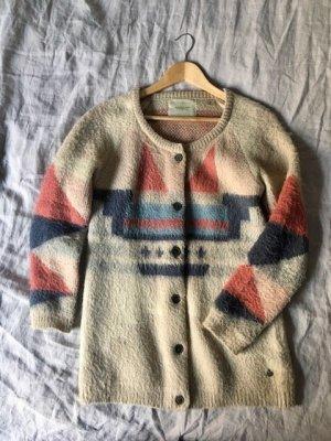 Maison Scotch Chaqueta de lana multicolor Acrílico