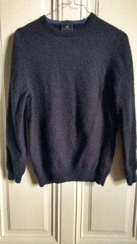 Christian Berg Pullover in cashmere blu scuro
