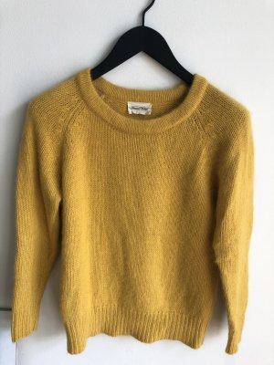 American Apparel Pull tricoté jaune