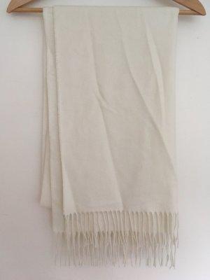 Fraas Bufanda de lana blanco puro