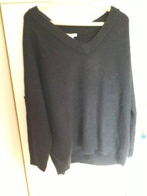 Basic Maglione di lana nero