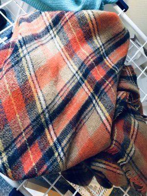 Flauschiger XL-Schal