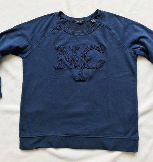 flauschiges Sweatshirt mit Aufdruck