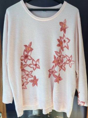 Twin set in maglia rosa pallido Acrilico