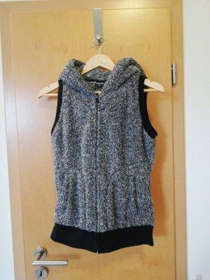 Urban Classics Hooded Vest black-grey