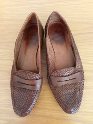 Made in Italy Pantoffels bruin