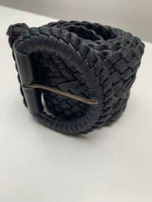 Pieces Cinturón trenzado negro