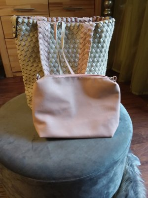 Shoulder Bag pink-natural white