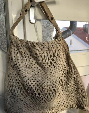 Coccinelle Shoulder Bag oatmeal