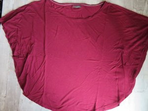 Street One Shirt Tunic dark red-purple viscose