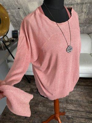 MNG Casual Sportswear Camicia oversize rosa-color oro rosa