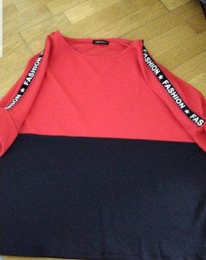 0039 Italy Camiseta negro-rojo