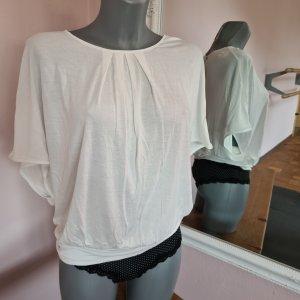 fledermaustop von Orsay XS neu viskose weiß wollweiß so edel Shirt Top