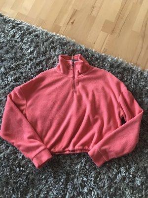 Brave Soul Fleece Jumper pink