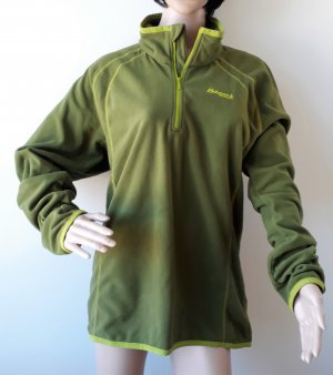 Bergans of Norway Sweat Shirt meadow green-olive green polyester