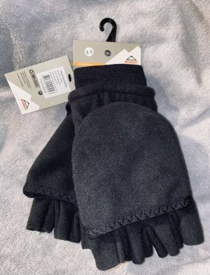 McKinley Fleece Gloves black