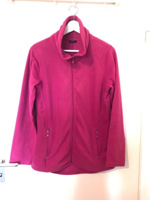 Laura Torelli Fleece Jackets pink-raspberry-red