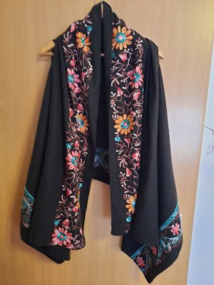 Lawrence Grey Poncho or rose-brun